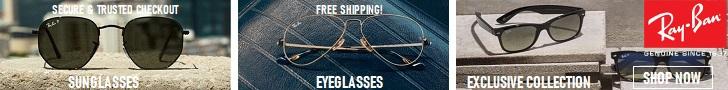 Ray-Ban é o único óculos que você precisa